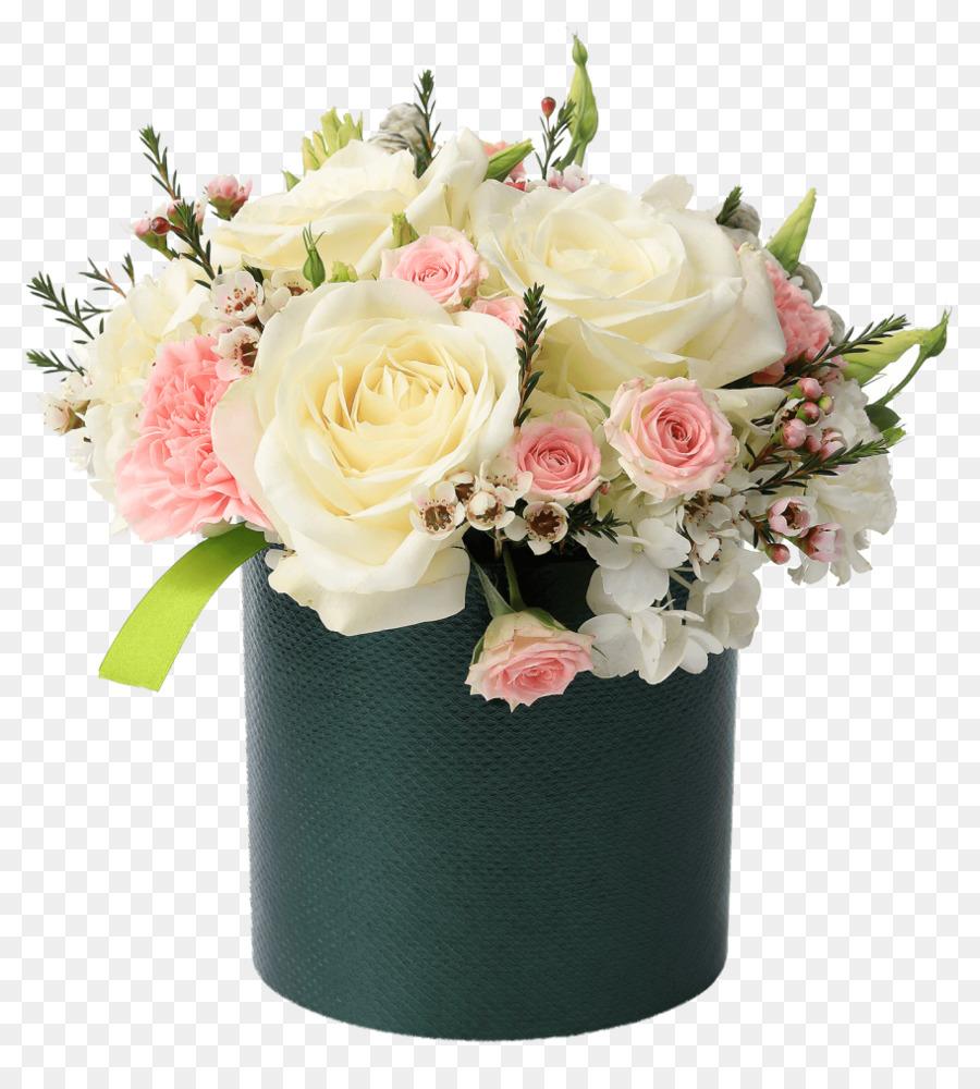 Flower box Flower bouquet Paper Cut flowers - flower box png ...