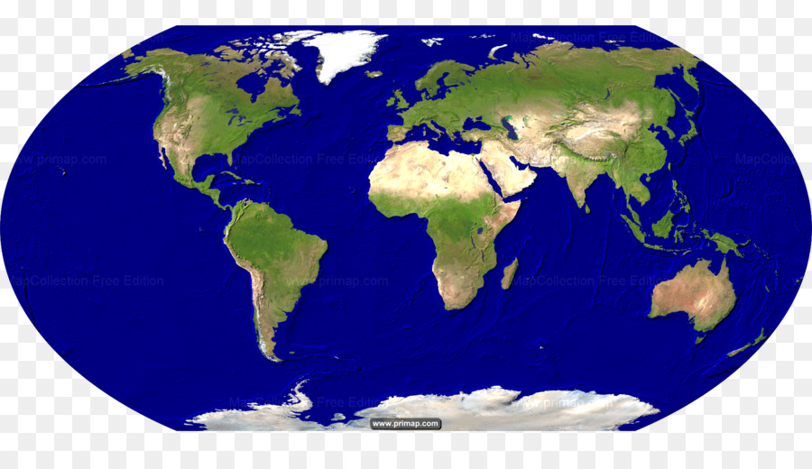 World Map Satellite Imagery Earth Satellite Map Png Download