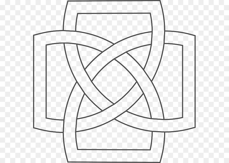 Celtic Knot Square png download - 639*640 - Free Transparent Celtic