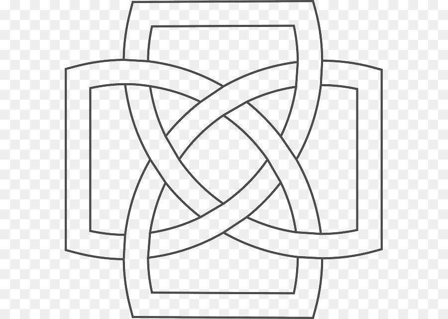 Nudo celta de la cruz Celta Celtas - patrón simple png dibujo ...