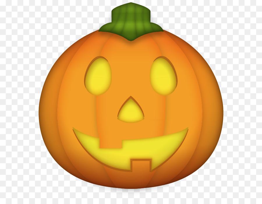 Emoji Jack-o'-lantern Pumpkin Desktop Wallpaper Clip art - Emoji png download - 636*681 - Free Transparent Emoji png Download.