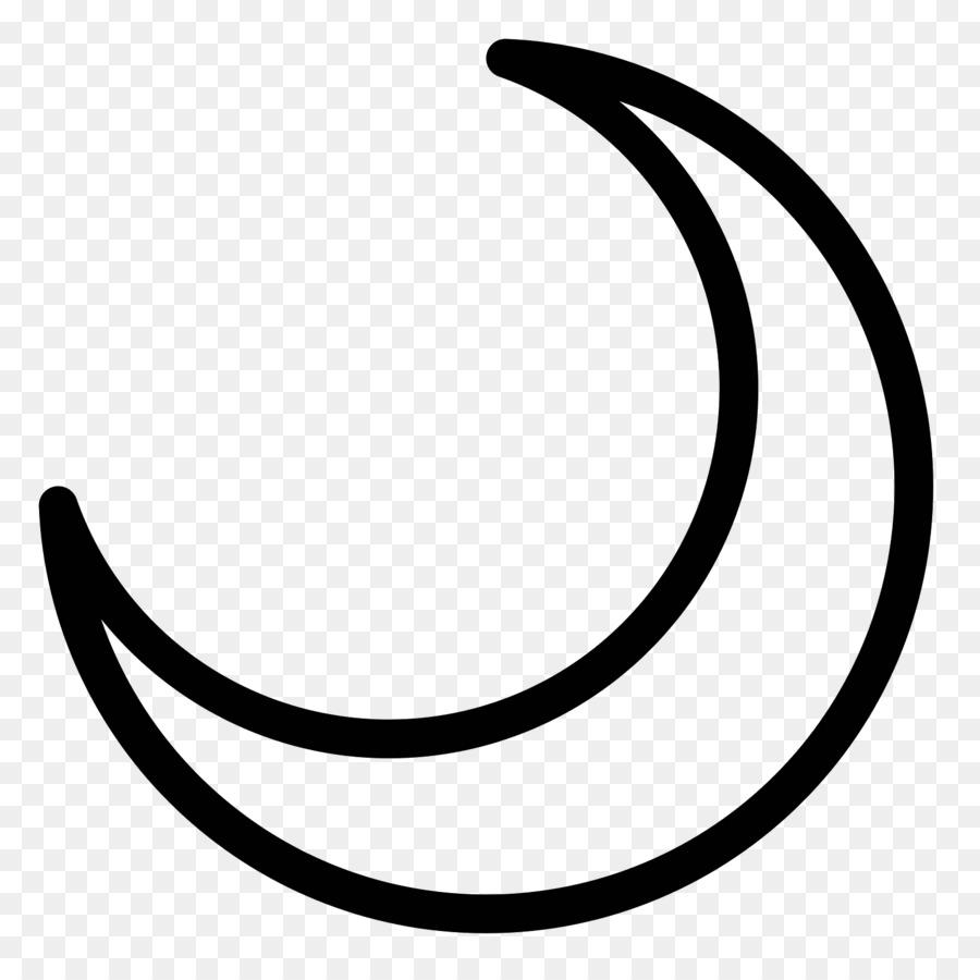 Lunar Phase Computer Icons Symbol Crescent Moon Moon Crescent Png