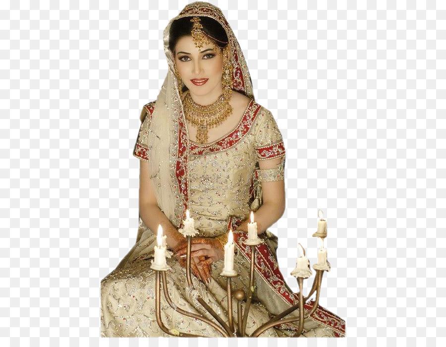 Wedding dress Bride Indian wedding clothes - bride png download ...