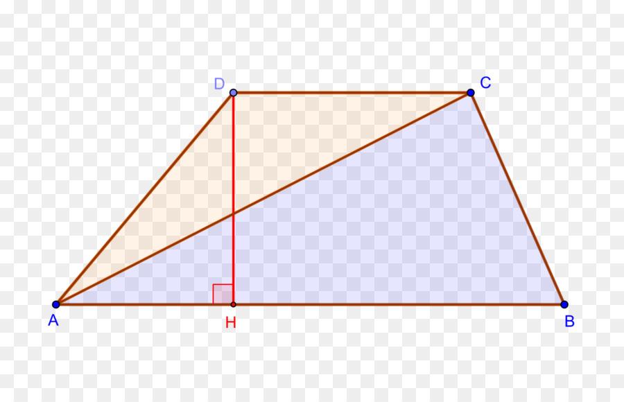 Área De Un Triángulo Rectángulo Trapecio - trapecio vector Formatos ...