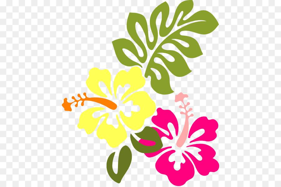 computer icons hawaiian hibiscus yellow hibiscus clip art multi rh kisspng com Hibiscus Flower Drawings Flower Design Clip Art