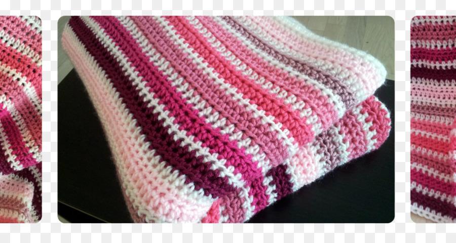 Puntada De Crochet Manta Afgana Patrón - sombreado rosa Formatos De ...
