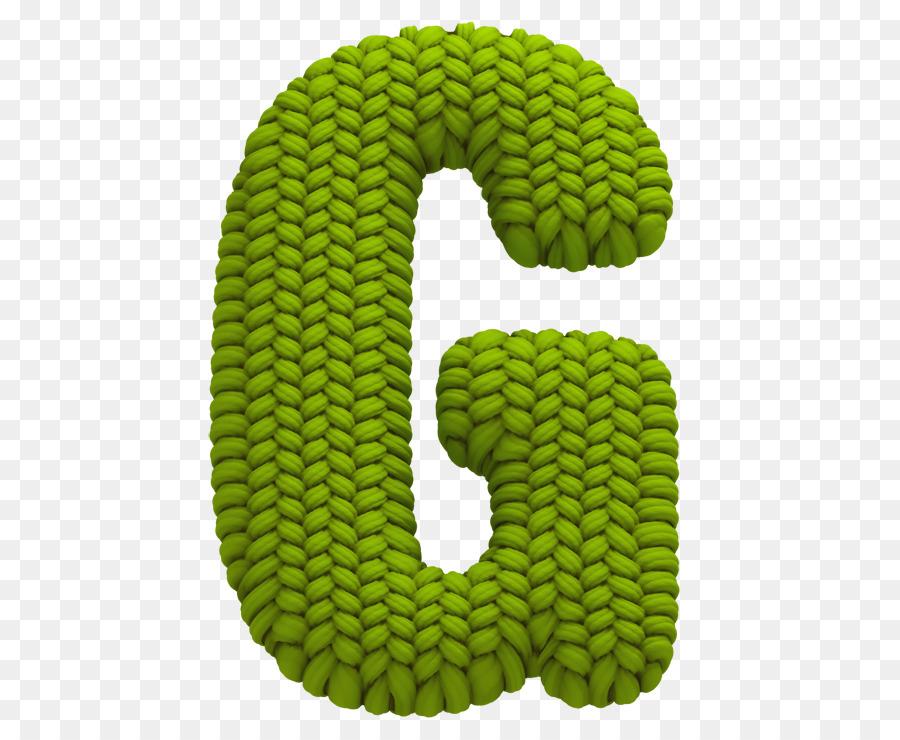 Alphabet Letter Knitting Typeface Font - blue font png download ...