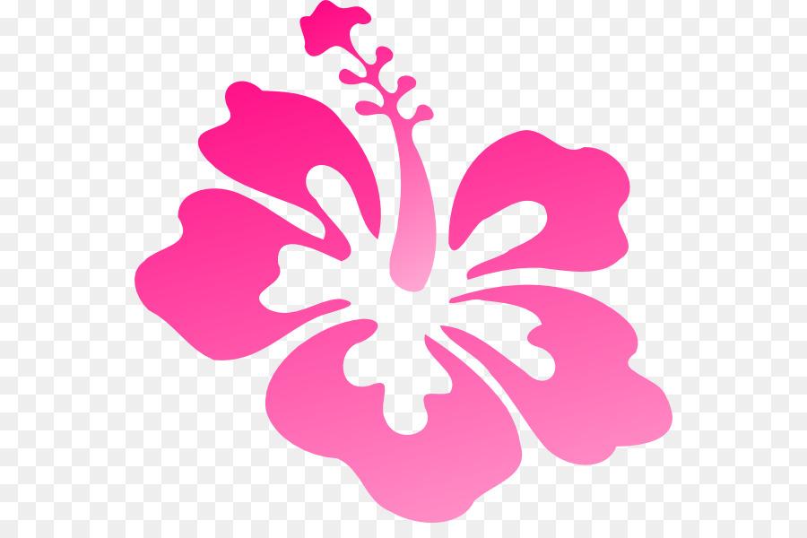 Hawaiian Hibiscus Drawing Clip Art Hibiscus Png Download 600583