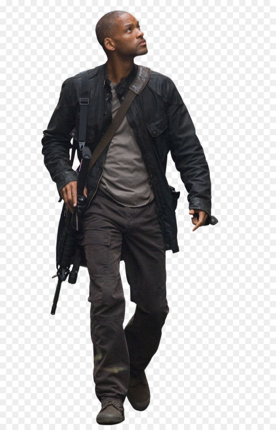 i am legend will smith youtube deviantart photorealistic png