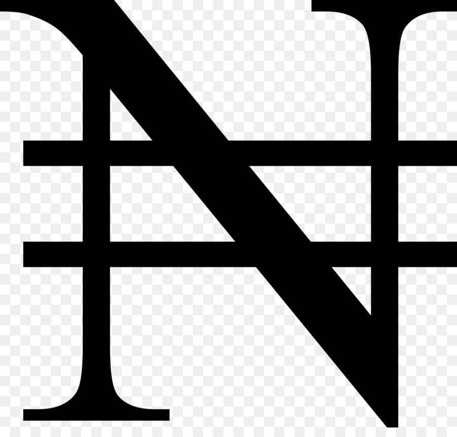 Nigerian Naira Naira Sign Currency Symbol Bank Abroad Vector Png