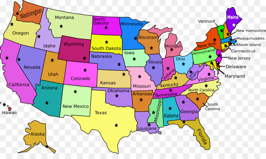 Us State Blank Map Maine World Map Saint Louis Png Download - St-louis-us-map