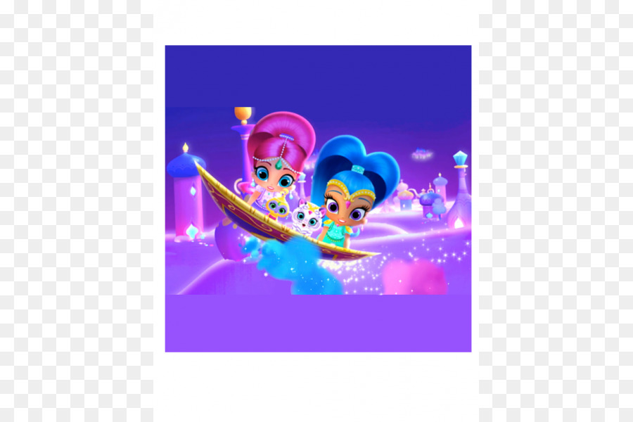 Nickelodeon Shimmer and Shine: Magical Genie Games for Kids Cupcake ...