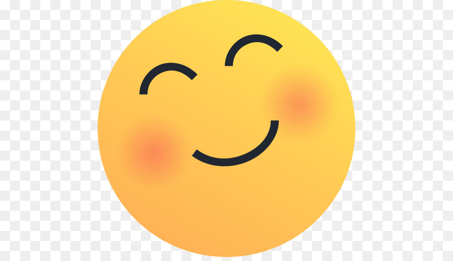 smiley emoticon blushing emoji sticker facebook reaction png