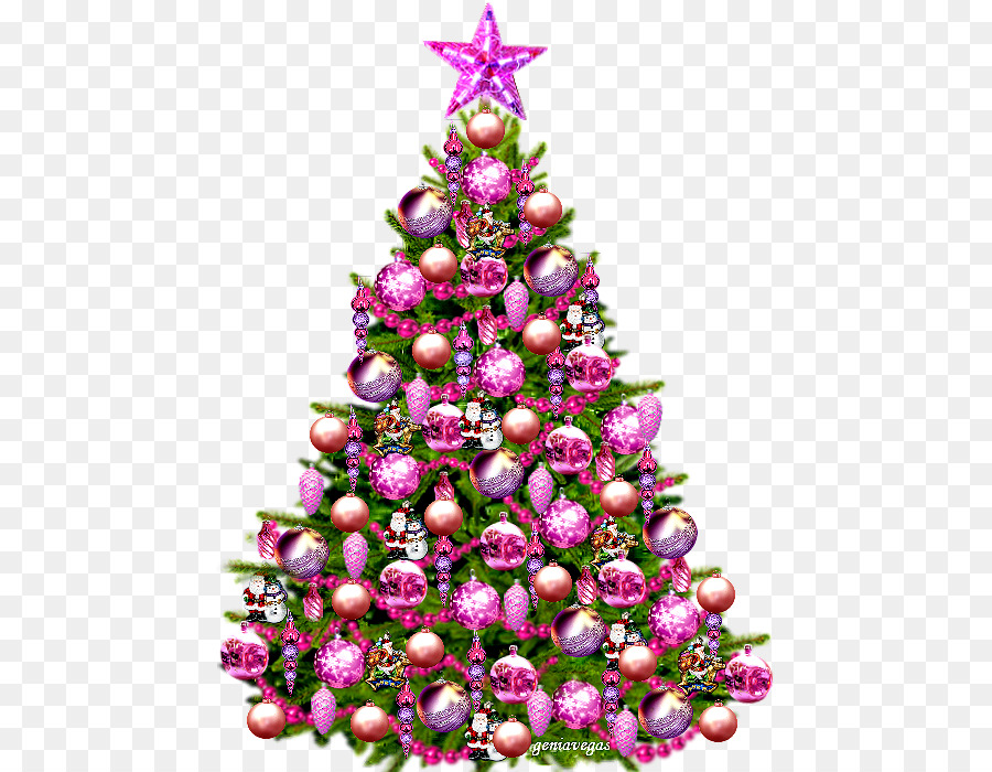 Christmas And New Year Background Png Download 508 700 Free