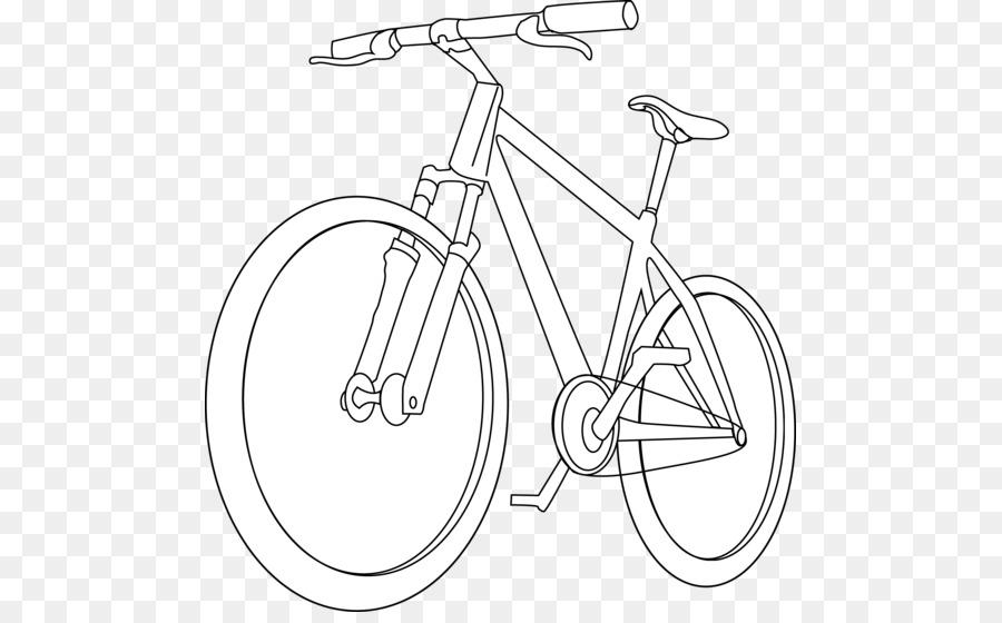Libro para colorear de Bicicletas Ciclismo de Dibujo Clip art ...