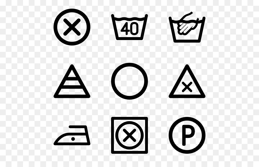 laundry symbol washing computer icons instruction png download