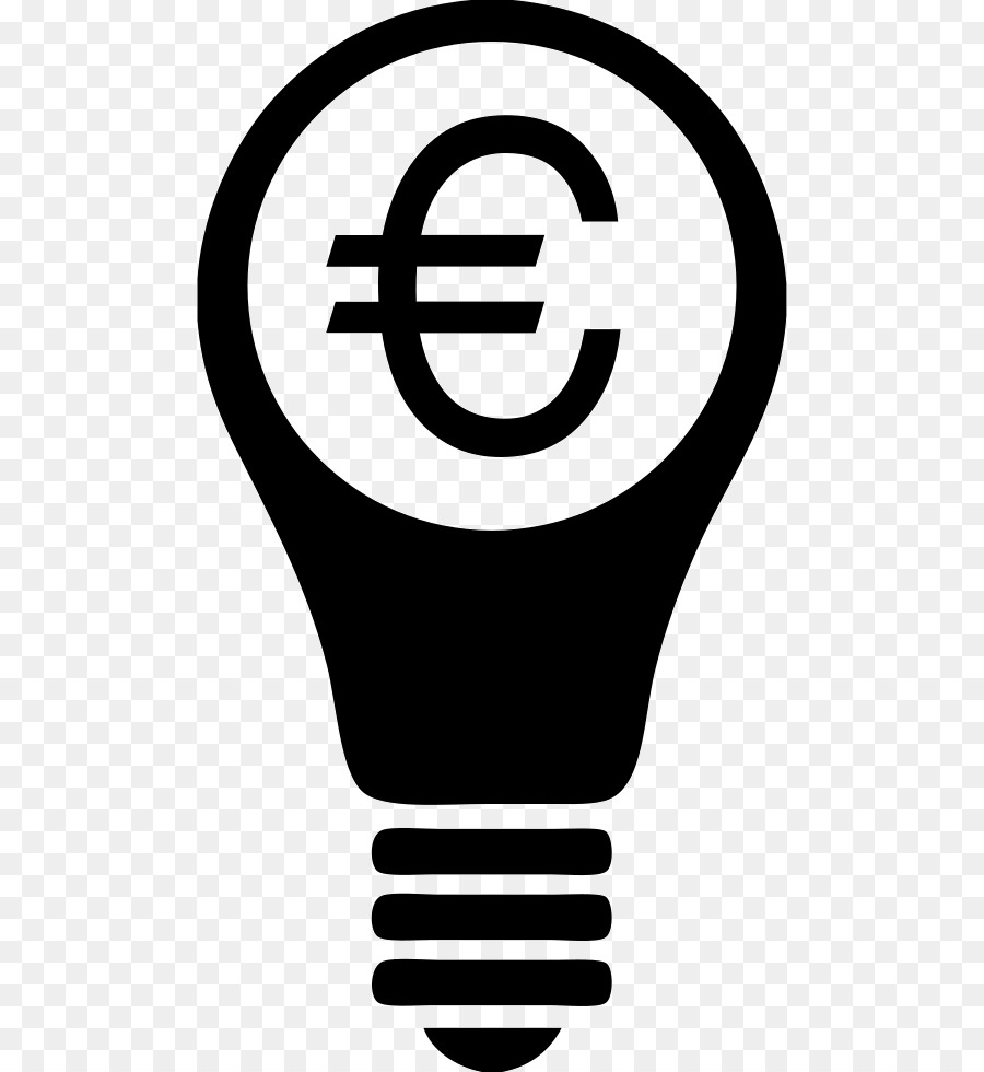 Incandescent light bulb Computer Icons Symbol Electricity - euro ...