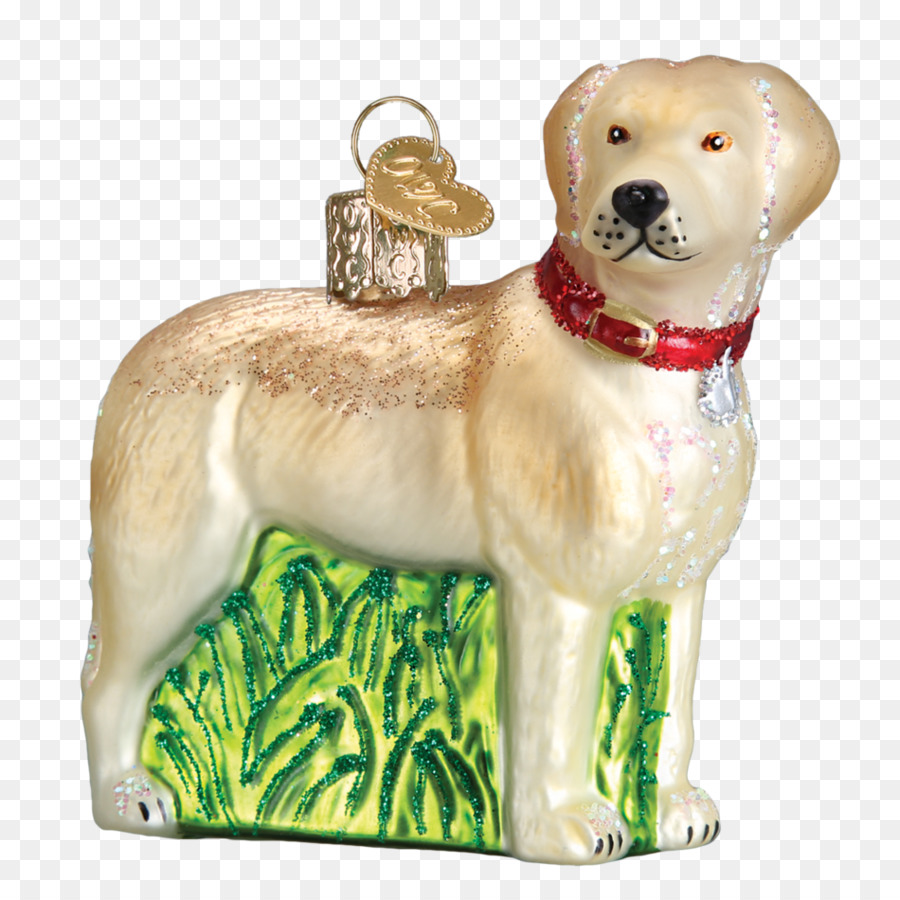 labrador retriever puppy dog breed christmas ornament golden retriever hand painted family
