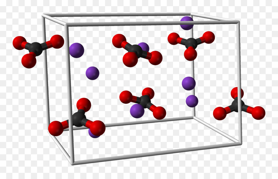 Potassium Carbonate Chemistry Ball And Stick Model Loong Png