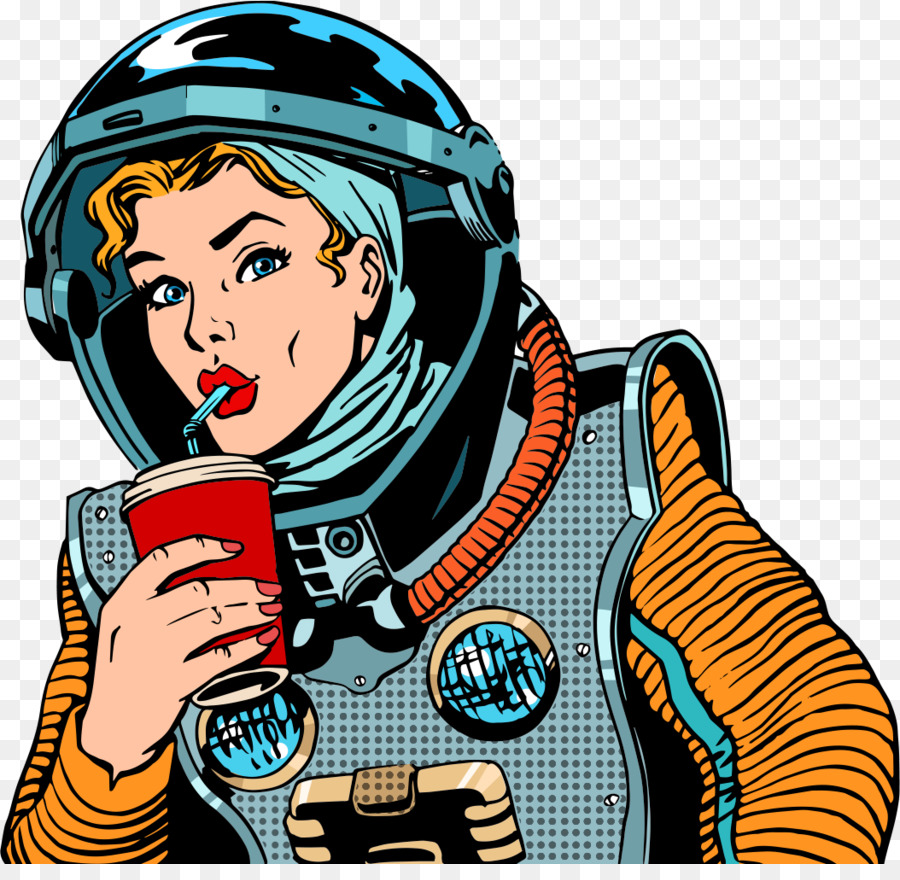 royalty free drink pop art astronauts png download 1054 1012