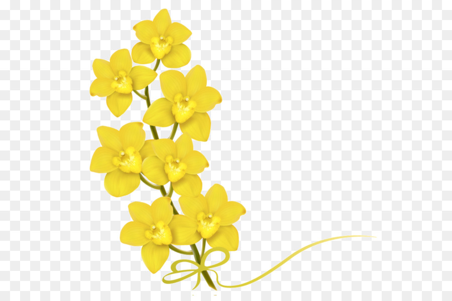 Yellow Flower Clip Art The Story Of The Small Yellow Flower Png