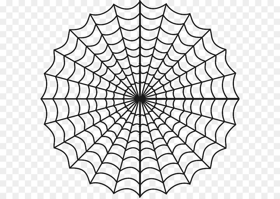 Tela de araña libro para Colorear, Dibujo de - Roja Sitio Web png ...