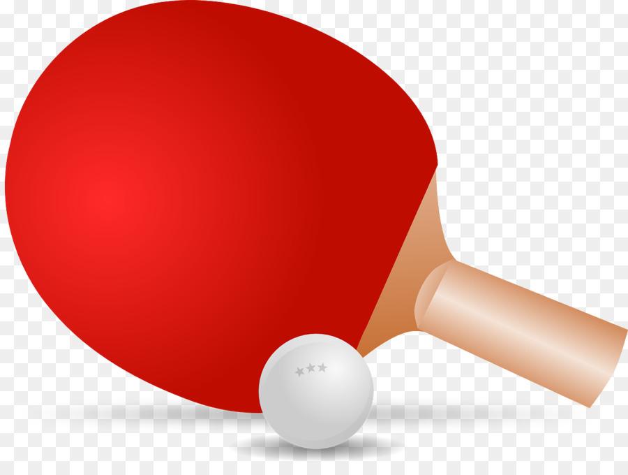 Paletas de Ping Pong Y Establece el Juego de Tenis de Mesa Clip art ...