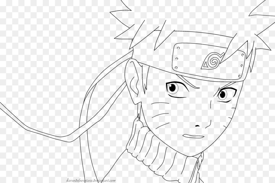 Naruto Uzumaki el arte de Línea de Dibujo de Kakashi Hatake - Arte ...