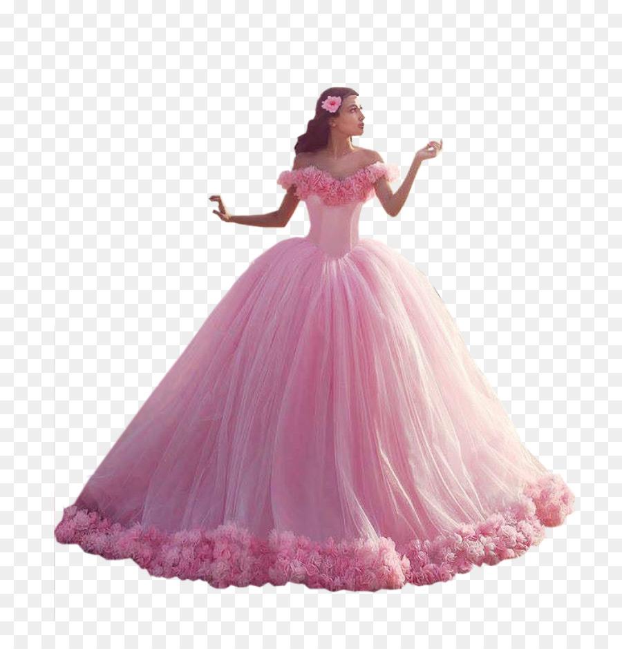 Vestido de novia Balón vestido de Novia de Tren - rosa camelia ...