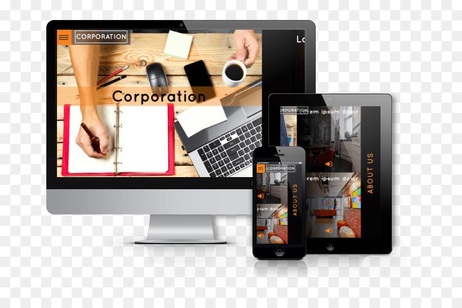 Responsive web design Blog de WordPress Tema - barra de tema ...