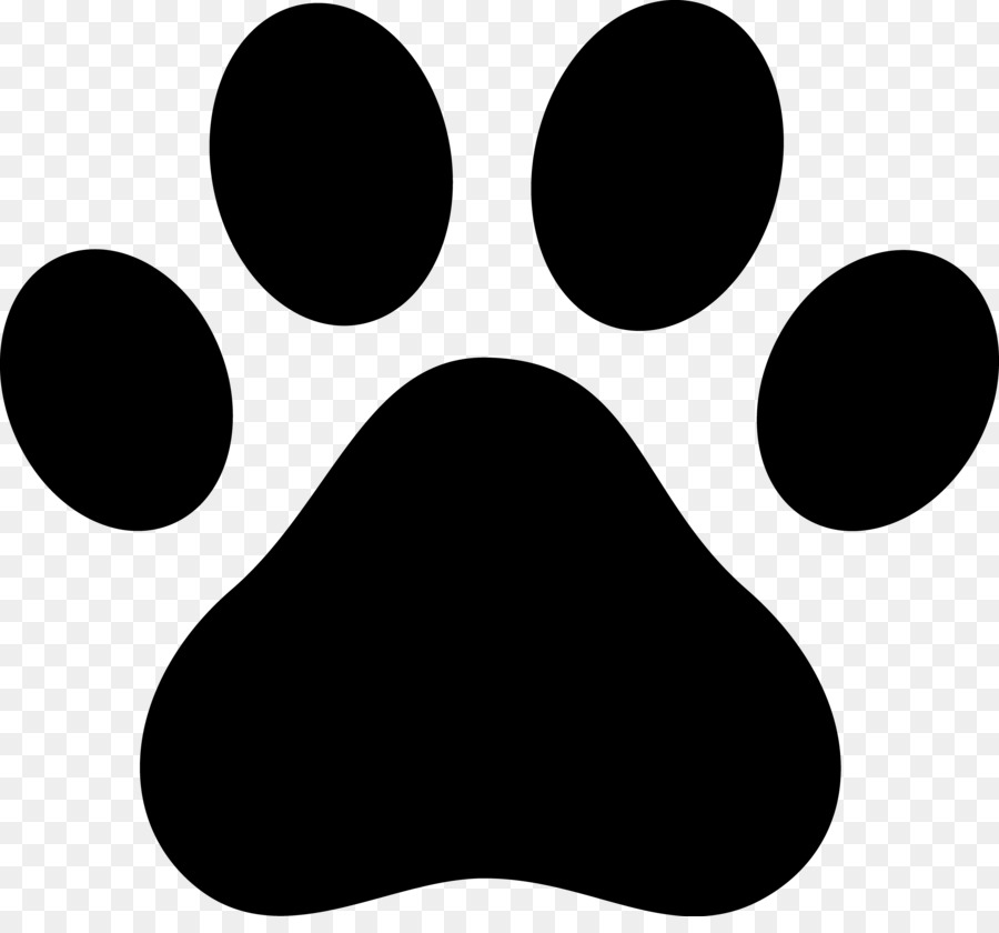 Dog Cat Paw Decal Clip art - paw print png download - 4106 ...