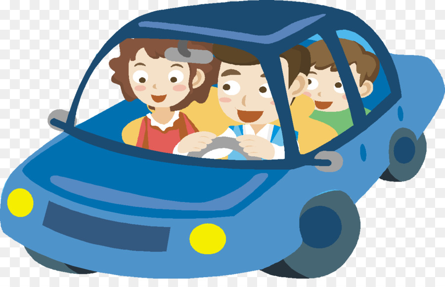 Cartoon Child Family Clip art - car png download - 1280 ...