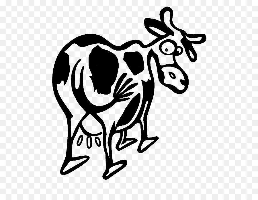 Dairy Cattle Drawing Logo Livestock