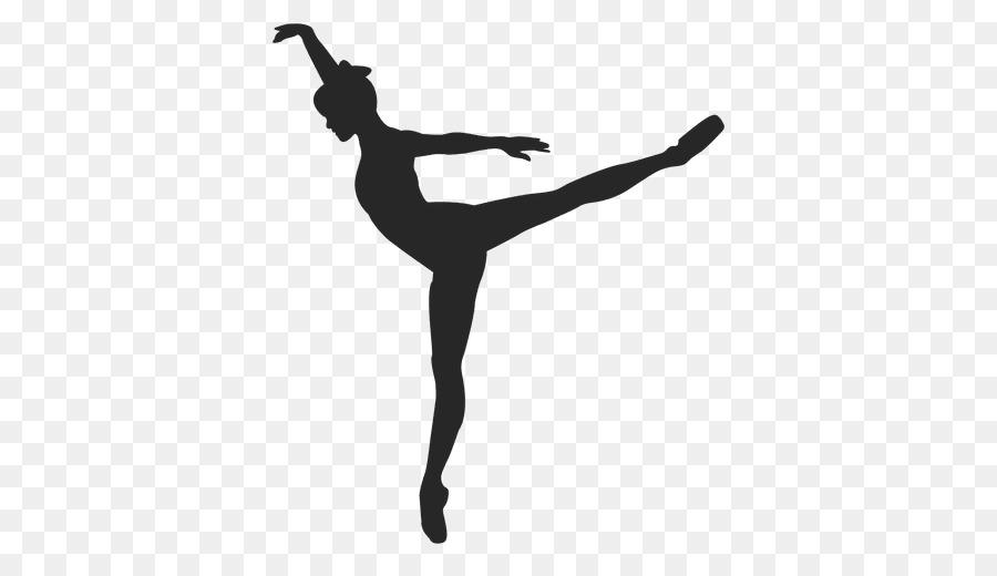 La Silueta De Bailarina De Ballet