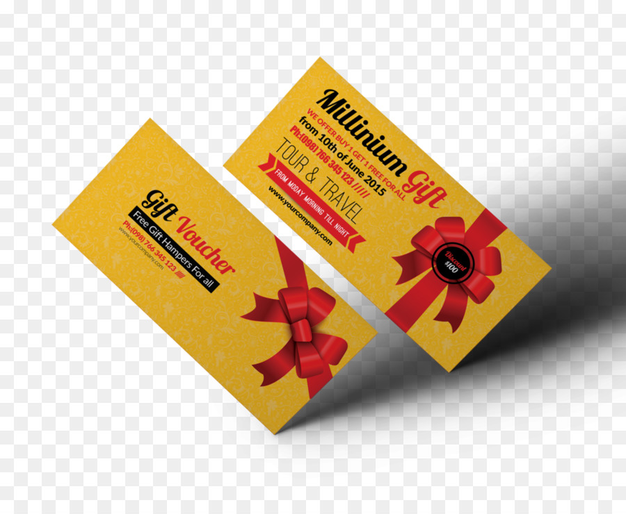 Gift Card Voucher Promotion Business Corporate Identity Gift Items