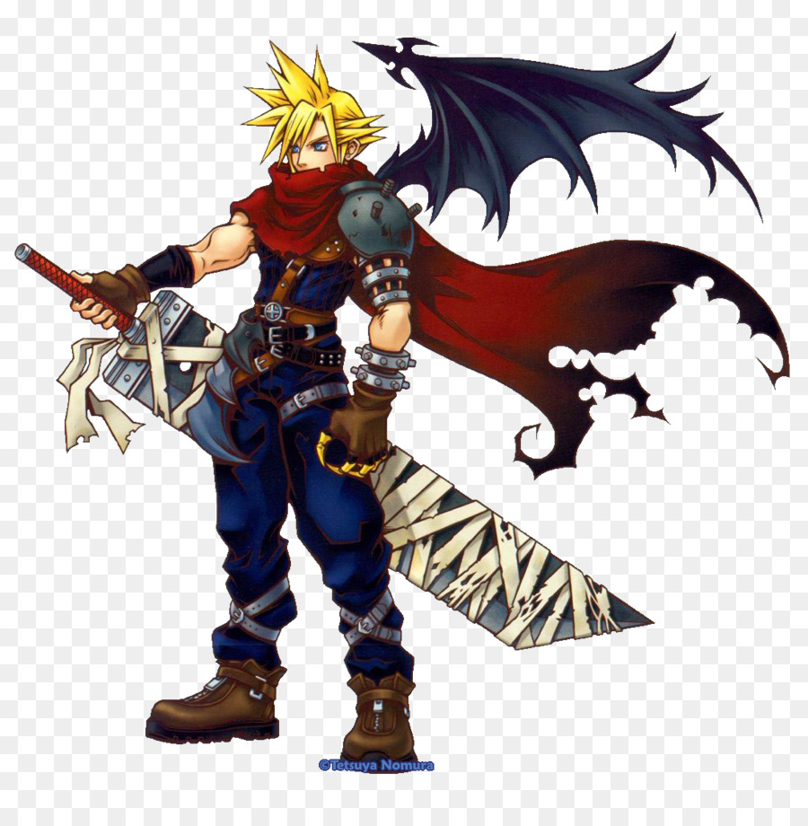Cloud Strife Final Fantasy Vii Kingdom Hearts Ii Dissidia Final