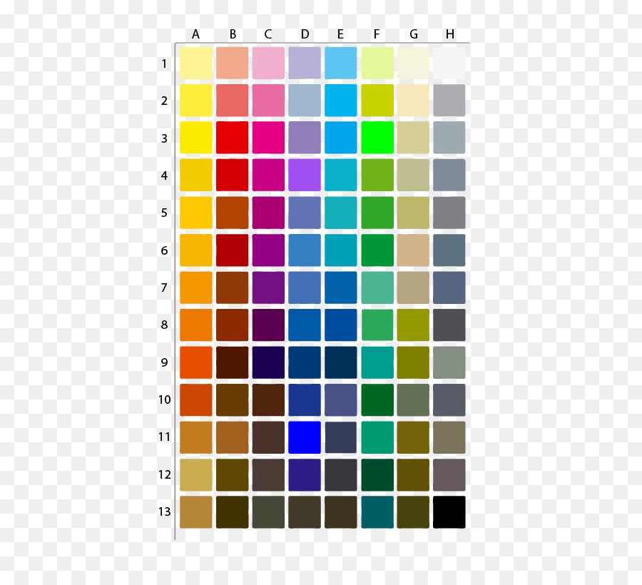 Cmyk Color Model Color Chart Silver Color Chart Png Download 511