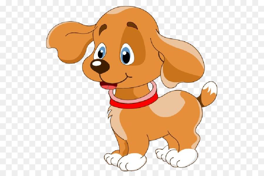 Filhote De Cachorro Cão Dos Desenhos Animados De Clip-art