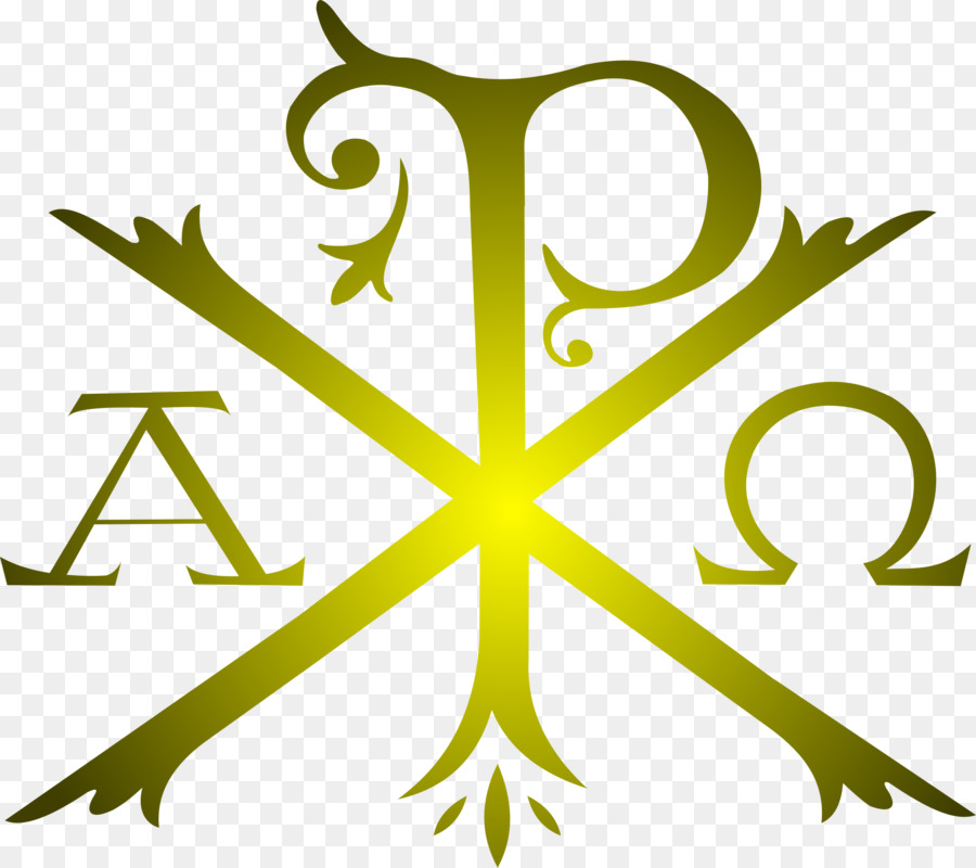 Chi Rho Alpha And Omega Symbol Christianity Traditional Clipart