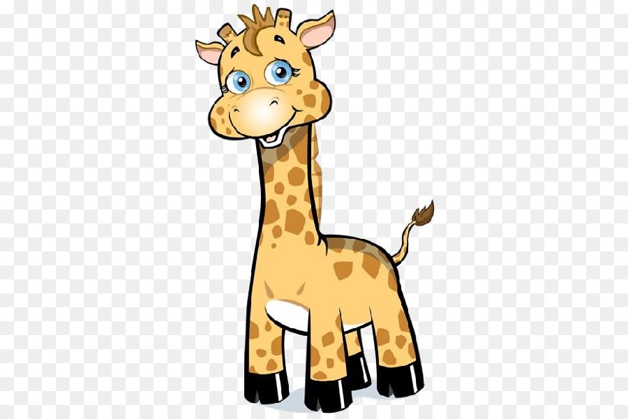 Cartoon Giraffe Png Download 600 600 Free Transparent Baby