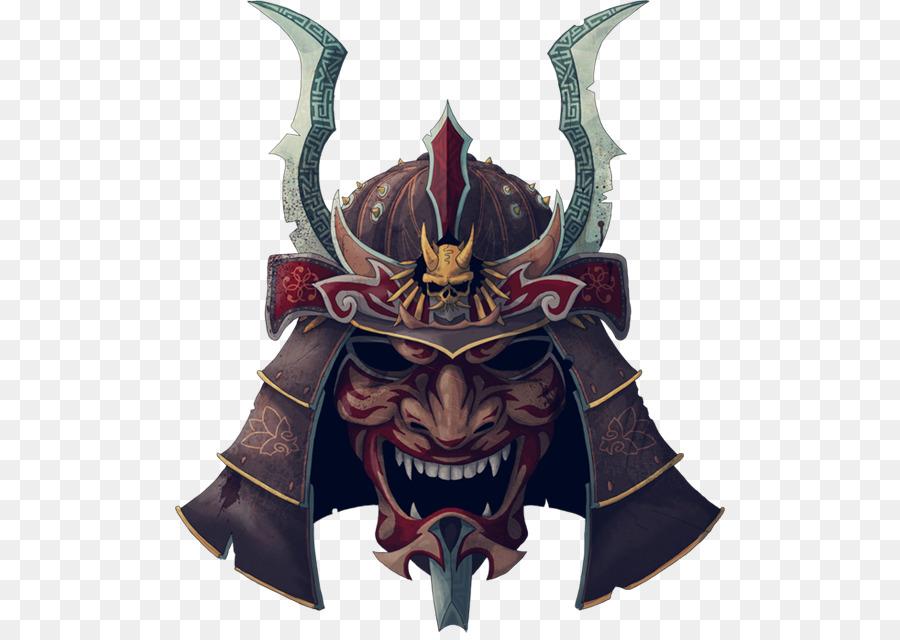 Skiinmode Oni Warrior Blogspot: Samurai Japanese Armour Oni T-shirt Helmet