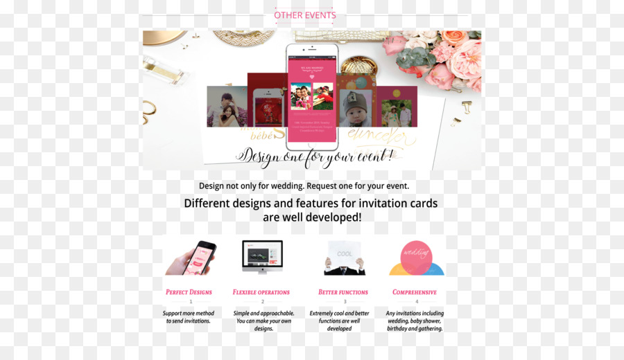 Wedding Invitation E Card Greeting Note Cards Baby Shower Others