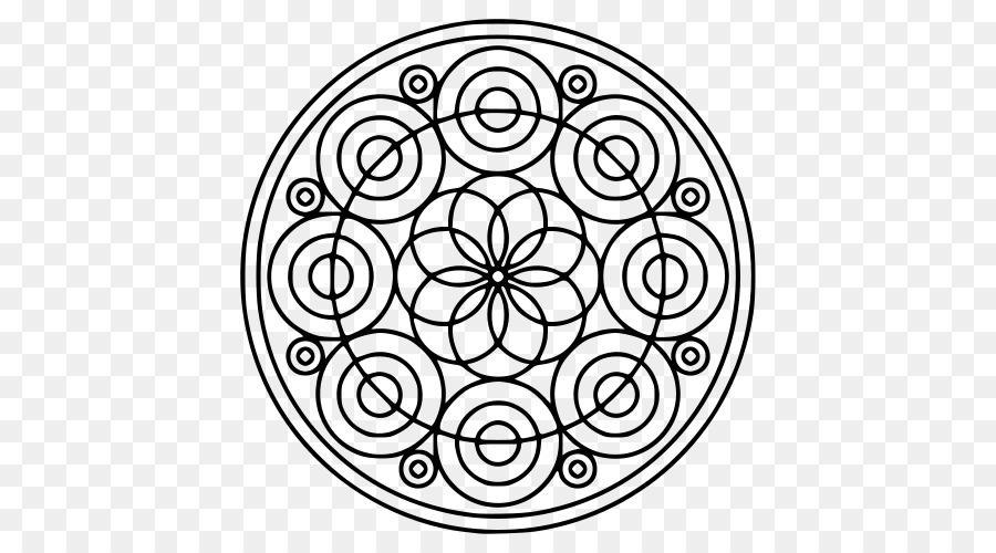 Mandala para Colorear libro Círculo de Dibujo de nudo Celta - patrón ...