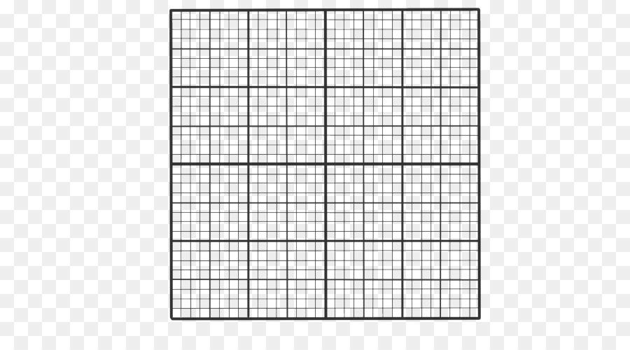 Transparent Square Grid