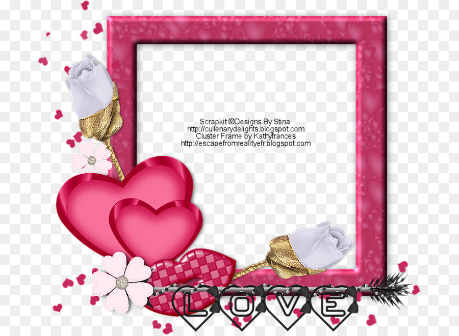 Picture Frames Paper - valentine frame picture material png download ...