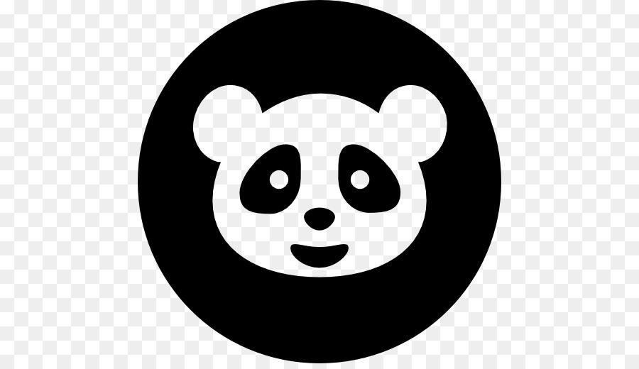 Giant Panda Bear Computer Icons Symbol Panda Vector Png Download