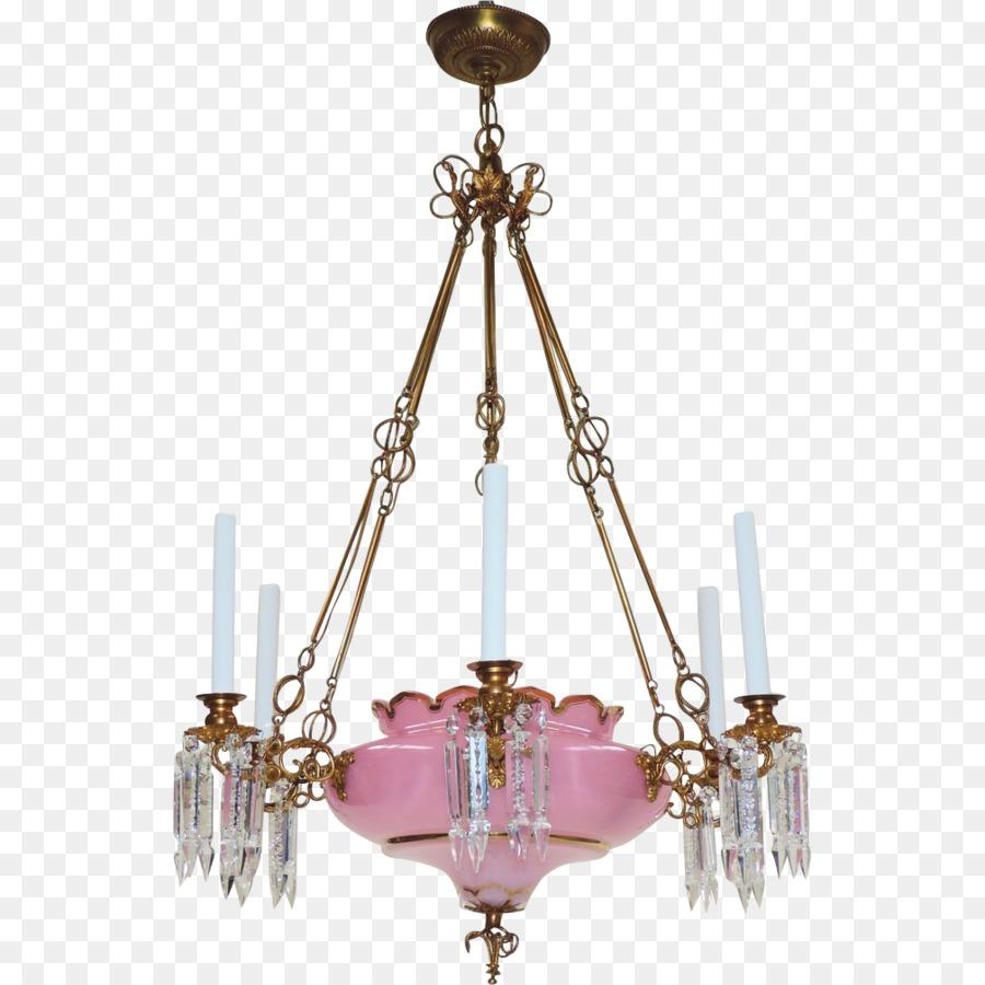 Kronleuchter Licht Leuchte Beleuchtung Opaline Glas Decke   Kronleuchter