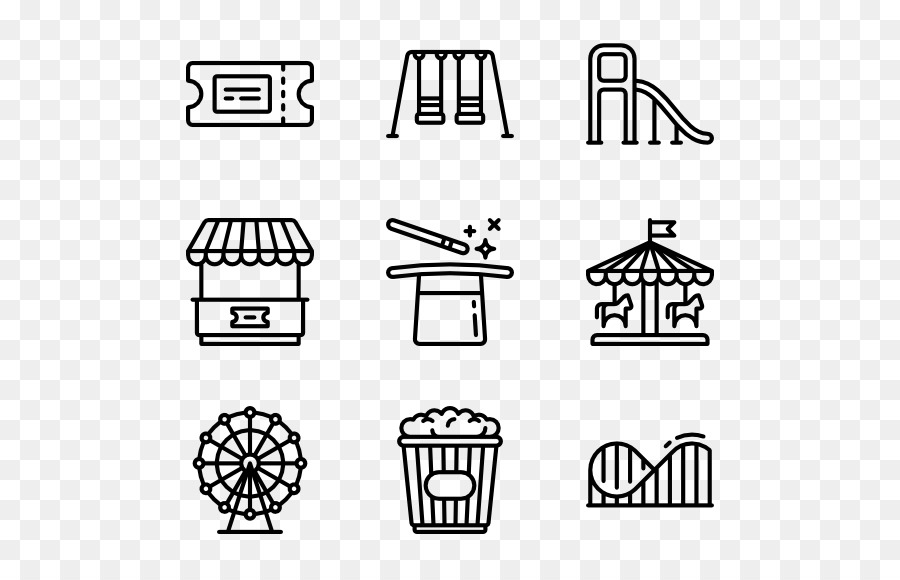 Computer Icons Business Cards - cartoon theme park png download ...