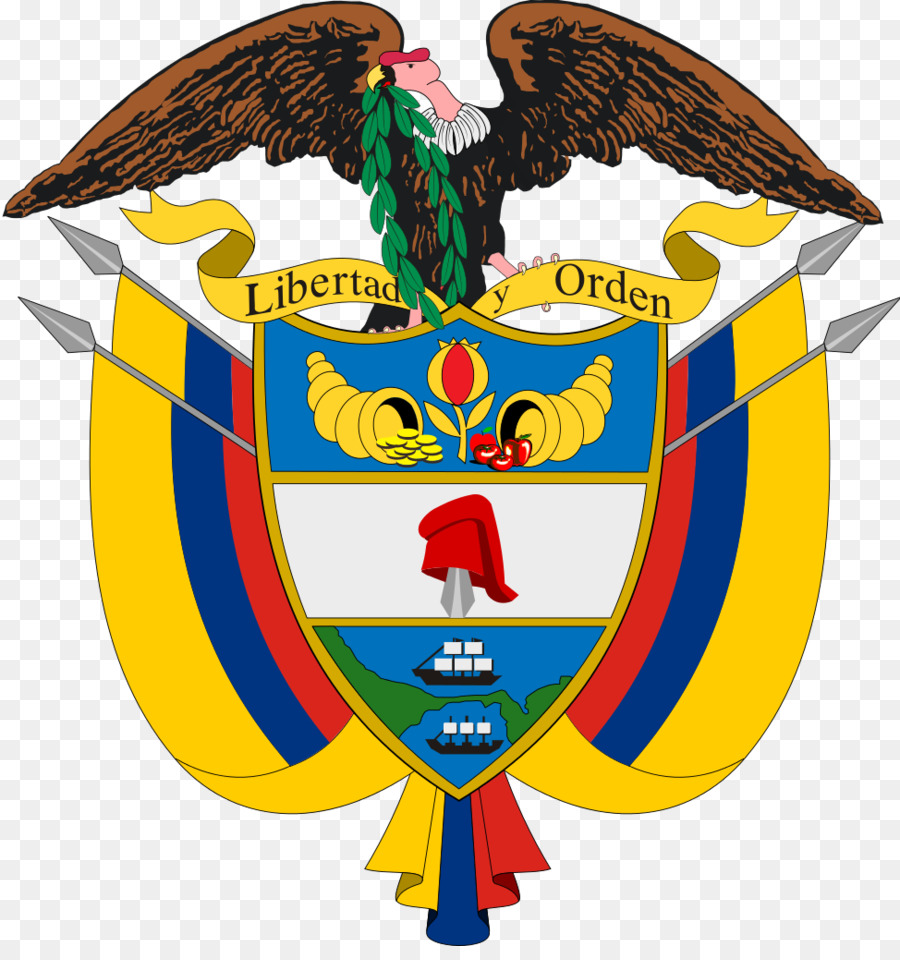 Coat Of Arms Of Colombia Gran Colombia National Symbols Of