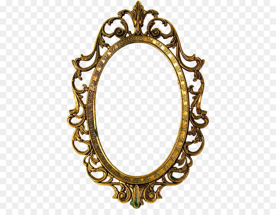 Picture Frames Gold Decorative Arts Oval Gold Png Download 469